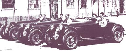 Alfa Romeo Scuderia Ferrari 1936-2