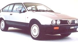 Alfa Romeo Alfetta GTV 6 1980, historia
