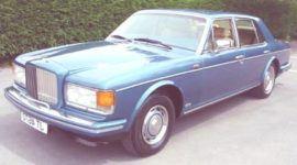 Bentley Mulsanne Turbo 1982, historia