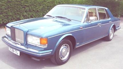 Bentley Mulsanne Turbo 1982 2