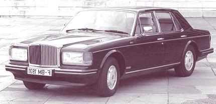 Bentley Mulsanne Turbo 1982 3