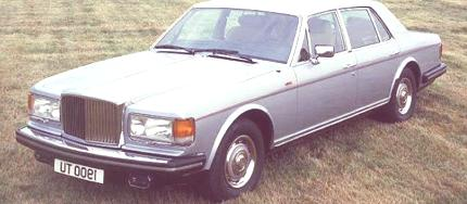 Bentley Mulsanne Turbo 1982 4