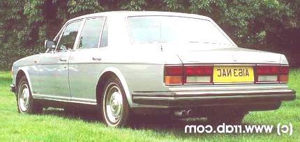 Bentley Mulsanne Turbo 1982