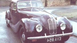 Bristol 400 1947, historia