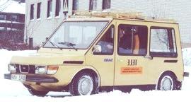 Saab 95 TJ Electric Postal Van 1974, una idea poco conocida de la firma sueca