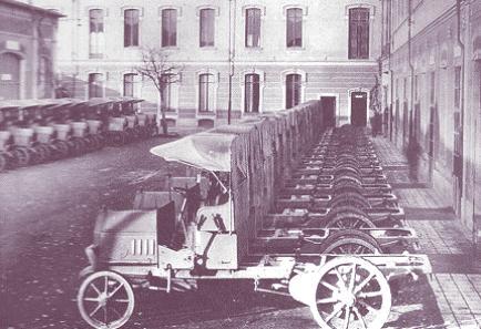 Fiat camiones ligeros 1914