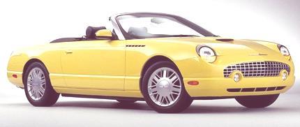 Ford Thunderbird 2002 01