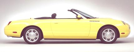 Ford Thunderbird 2002 02