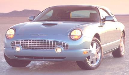 Ford Thunderbird 2002 04