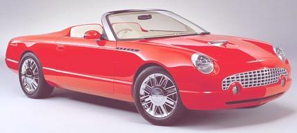 Ford Thunderbird 2002 06
