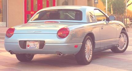 Ford Thunderbird 2002 07