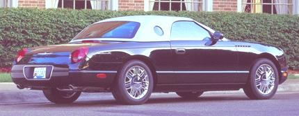 Ford Thunderbird 2002 11