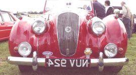Lagonda 2.6 Drophead 1949, historia