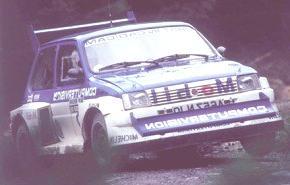 MG Metro 6R4 1985, historia