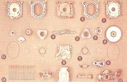 Motor Wankel elementos