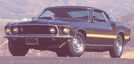 1969 Ford Mustang Mach 1. Photo Credit: David Newhardt's Mustang 40 Years book