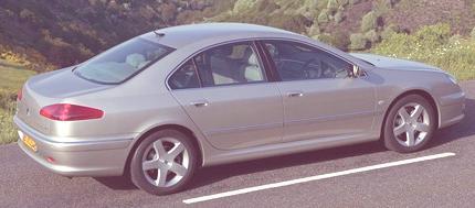 Peugeot 607 2000 02