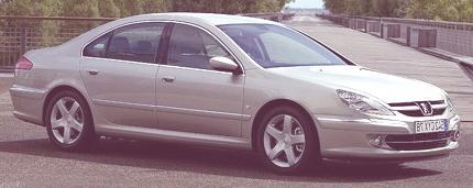 Peugeot 607 2000 04