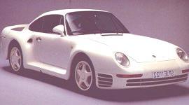 Porsche 959, historia