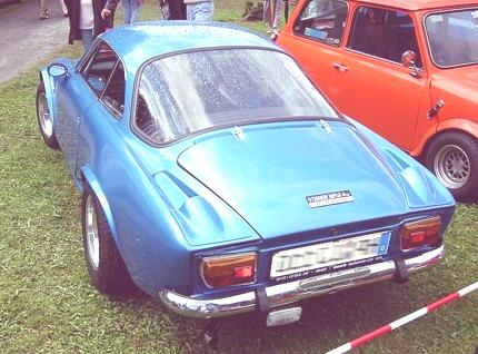 Renault_Alpine_A110_Berlinette_1600_SX_rear