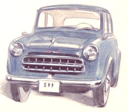 Sedan Type 110 1955