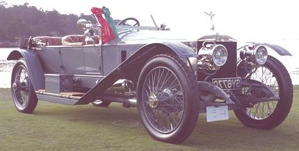 Silver Ghost London Edinburgh Tourer 1912