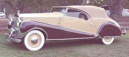 Silver Wraith Inskip Cabriolet 1947 01