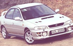 Subaru Impreza 2.0 Turbo 4WD 1993, historia
