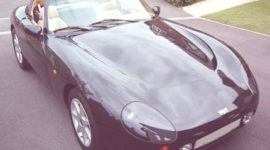 TVR Griffith 1990, historia