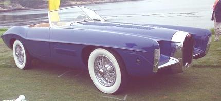 Type 101 Ghia Roadster 1951