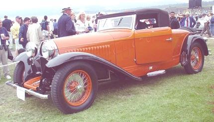 Type 46 de Villars Cabriolet 1929