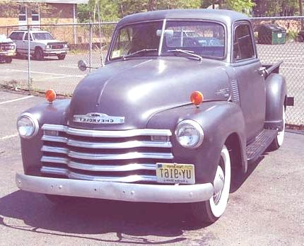 Historia de las Pick-Up chevrolet 1950