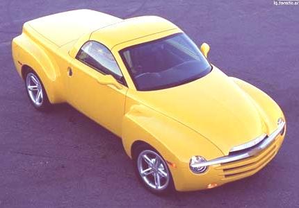 Historia de las Pick-Up chevrolet SSR