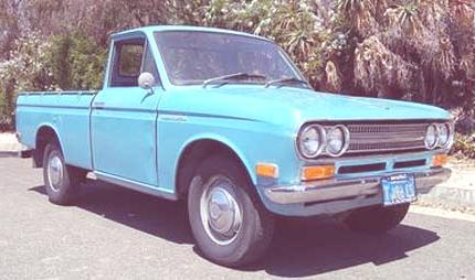 Historia de las Pick-Up datsun-pick_up- 1970