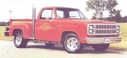 Historia de las Pick-Up dodge Li'l Red Express Truck 1979