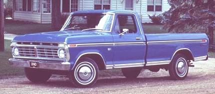 Historia de las Pick-Up ford f 1973