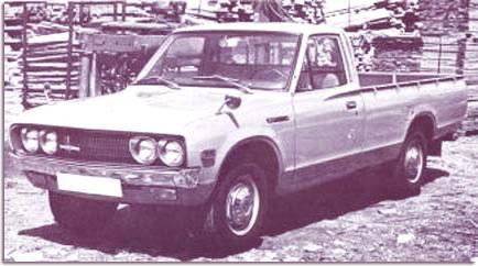 Historia de las Pick-Up nissan pick up1