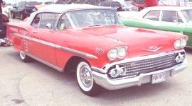 Chevrolet Impala 1958, historia
