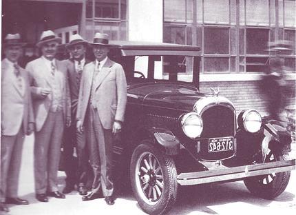 Chrysler y los tres mosqueteros