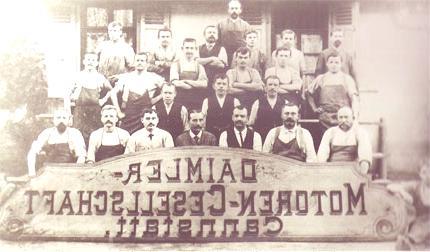 Daimler trabajadores