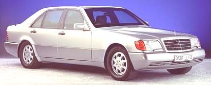 Mercedes Benz 600 SE 1