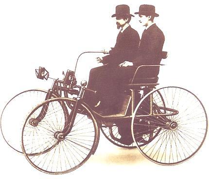 Stahlradwagen 1889