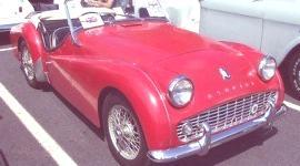 Triumph TR3A 1960, historia