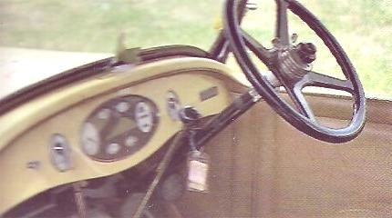 Chrysler Serie 70 interior