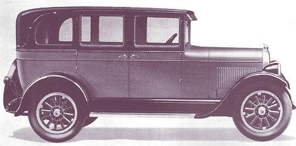 Chrysler Series 58 4 cilindros