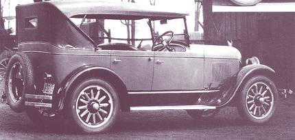 Chrysler Series 58 Touring Car