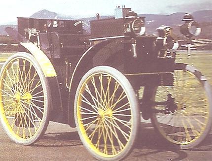 Eclair, primer coche con neumaticos