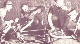 Los primeros neumáticos, historia