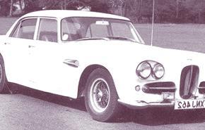 Lagonda Rapide 1961, historia