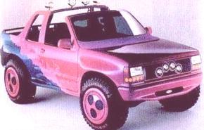 Historia de los Concept Cars, Ford Surf 1990 y Contour 1991
